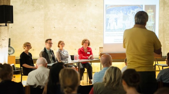 The Project members: Marika, Seppo, Hilkka-Liisa, and Johanna